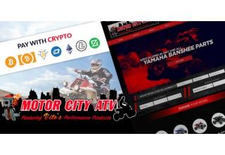 Motor City ATV Crypto Checkout