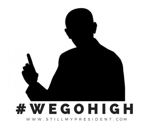 As President Elect Trump's Inauguration Approaches, #WEGOHIGH Movement Combats America's Fear and Heartache