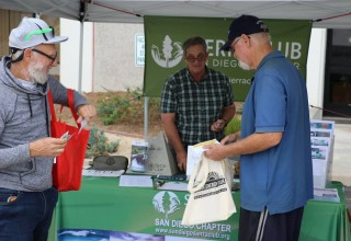 Sierra Club SD was a part of the nonprofit advocacy corner