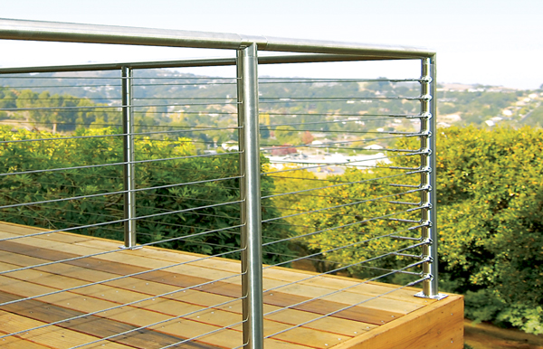 Atlantis Rail Stainless Steel Cable Railing Available from American