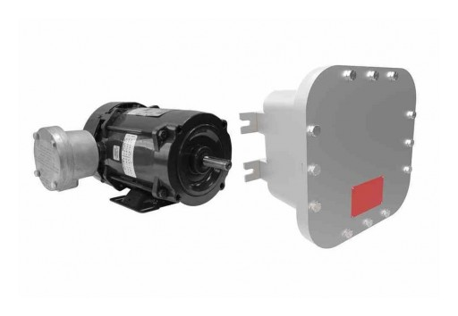 Larson Electronics Releases Explosion Proof Motor, 1HP, 230V 1PH 50Hz, Class I/II, 3,450 RPM