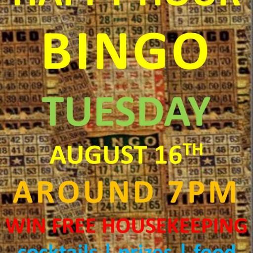 TENTEN Wilshire Rooftop: Hot August Happy Hour Bingo
