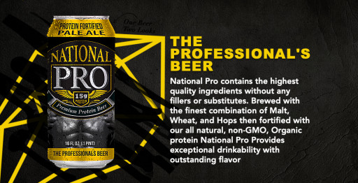 National Pro is Releasing a Beer With 15g of Protein