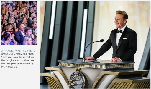 Mr. David Miscavige, Chairman of the Board, Religious Technology Center