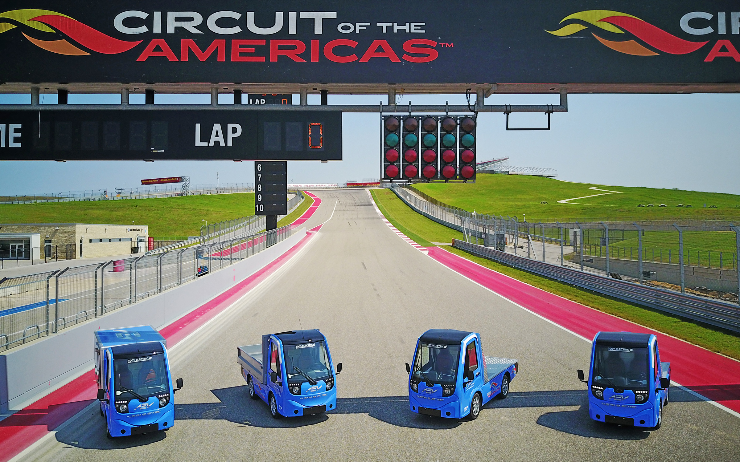 Austin Electric Vehicles Forms Strategic Partnership With Circuit Of Game At The Americas