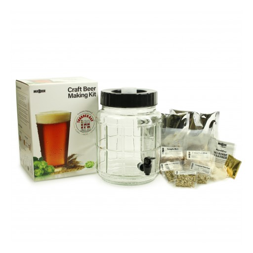 Mr. Beer Premieres New Kit With Glass Fermenter and Specialty Grains Recipe