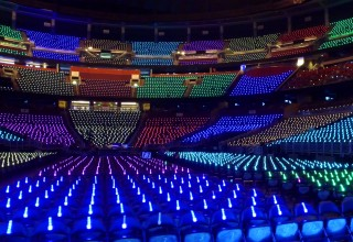 Stadium Ready! Xylobands Pre-Programmed With Color Zones and Color Groups