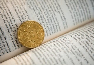Bitcoin Representing FinTech