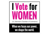 I Vote for Women