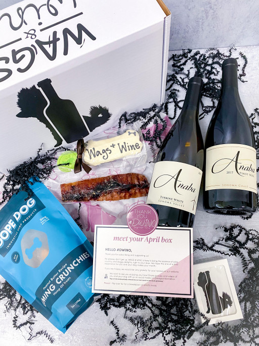 New Subscription Service, Wags & Wine, Debuts With Offer of Hand-Selected Treats for Humans and Canines Alike