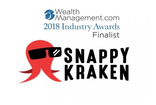 Snappy Kraken Named WealthManagement.com 2018 Industry Awards Finalist
