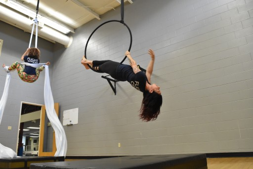 Greatmats Crash Mats Offer Safety at Discover Happy Aerial Arts and Pilates