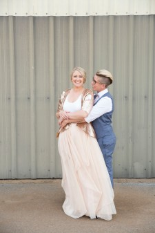 Lila McCann and wife