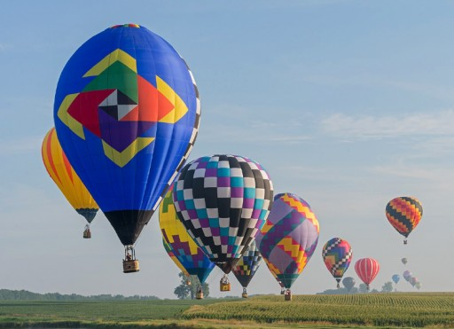 PASHpost Recognizes 50 Years of Competitive Hot Air Ballooning in Indianola, IA