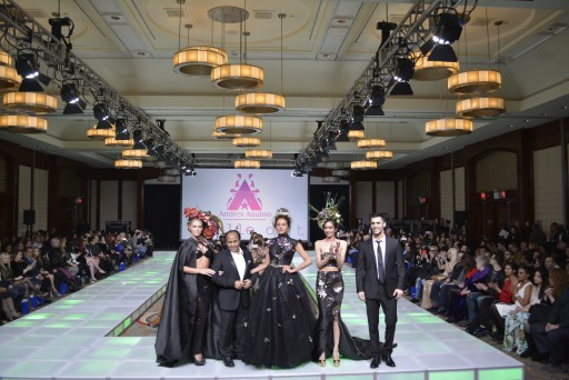 """Andres Aquino """"Belle Of The Ball"""" To Promotes Fashion Equality At Couture Fashion Week"""