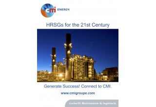 There are more than 700 CMI Energy Heat Recovery Steam Generators around the globe.