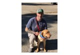 Jason Davis with Service Dog Bravo
