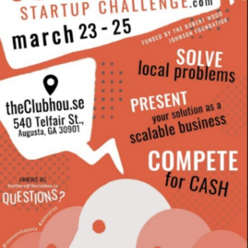 theClubhou.se and Augusta University Present 5-City Southeast Startup Challenge
