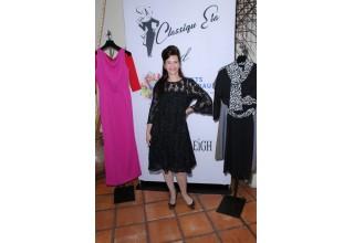 Classiqu' Era founder Anne Devlin looks stylish in one of her designs. Photo courtesy of Bob Delgadillo.