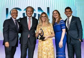 April Cornell receives Lifetime Achievement award