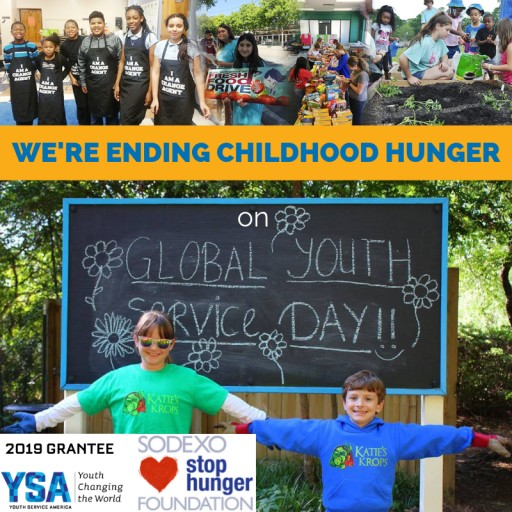 Young Leaders Awarded Sodexo Stop Hunger Foundation Youth Grants to Fight Childhood Hunger on Global Youth Service Day 2019