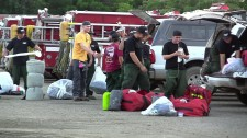 Volunteer Ministers helping at the Carr Fire
