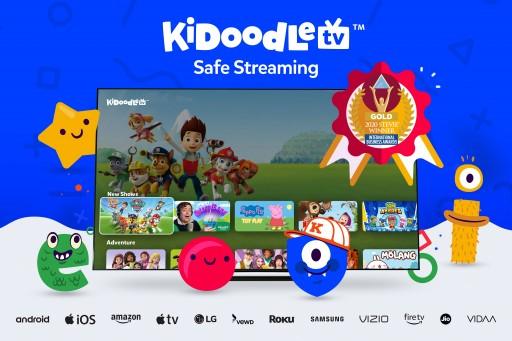 Kidoodle.TV® Wins Gold Stevie® Award in 2020 International Business Awards