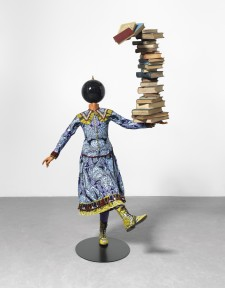 Girl Balancing Knowledge, 2015