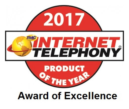 Pulsar360, Inc. Receives 2017 INTERNET TELEPHONY Product of the Year Award