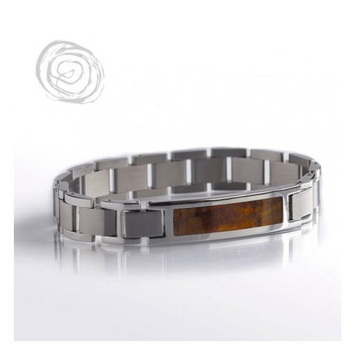 Chechen Burl Wood Interchangeable Bracelet