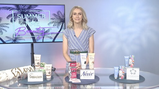 Celebrity Writer Emily L. Foley Shares Sizzling Summer Beauty Trends With Tips on TV Blog