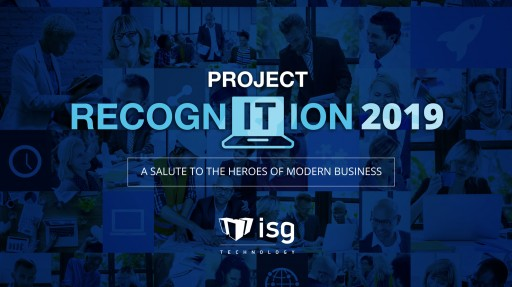 ISG Technology Announces Project RecognITion on National IT Professionals Day