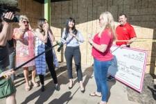 $21,000 surprise donation for Dress for Success