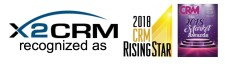 X2CRM Wins 2018 CRM Rising Star Award