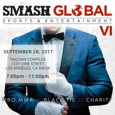 SMASH GLobal VI Black Tie MMA Fight Gala