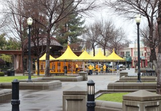 Scientology Volunteer Ministers pavilion in Chico, California