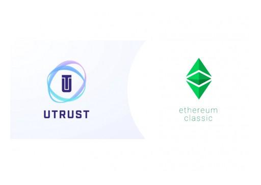UTRUST Partners With Ethereum Classic Dev Team, Integrating ETC