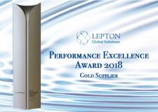 Performance Excellence Award 2018_Lepton Global