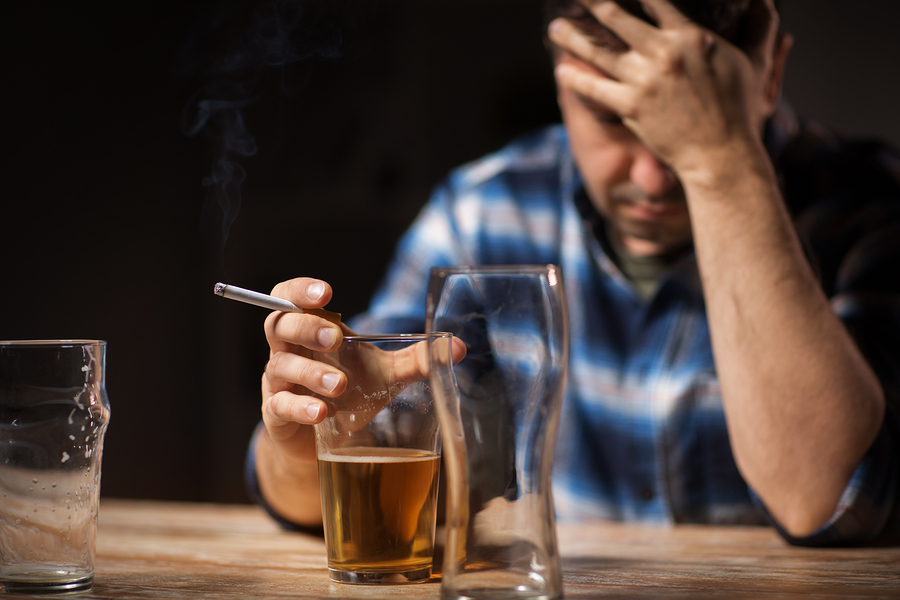 Image result for smoking alcohol and stress