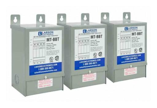 Larson Electronics Releases 3PH 31.3 kVA Zig Zag Autotransformer, 480V Delta, 408Y/277V Wye-N Secondary