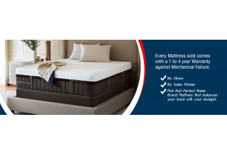 Save Money on Brand Name Mattresses like Sealy and Stearns & Foster.