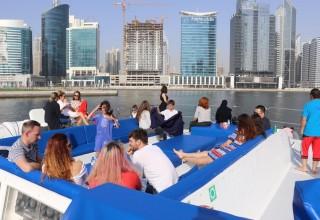 Dhow Cruise Canal Dubai