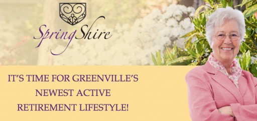 SpringShire Opens Newly Renovated Information Center in Greenville, NC  -  Introduces New Team Members