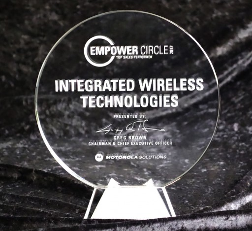 Integrated Wireless Technologies Awarded the Empower Circle Award by Motorola Solutions