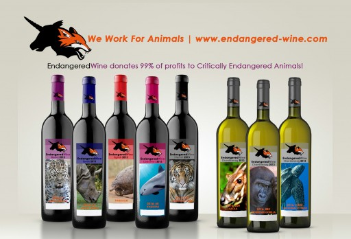 Endangered-Wine Launches New Lifestyle Label and Mission on Earth Day