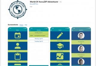 World of AccuZIP App Store Screenshot