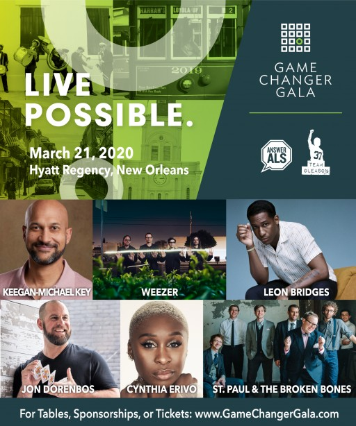 Game Changer Gala Announces Talent for New Orleans Event
