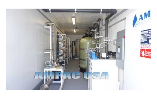 AMPAC USA Innovates Mobile Seawater Desalination Plant - SW100K-LX-C with 100,000 GPD Capacity