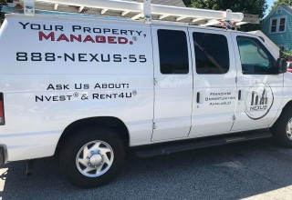 Nexus Property Management Maintenance Van