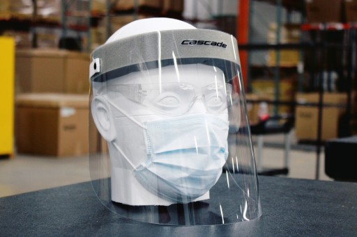 Cascade Face Shield for Medical Professionals
